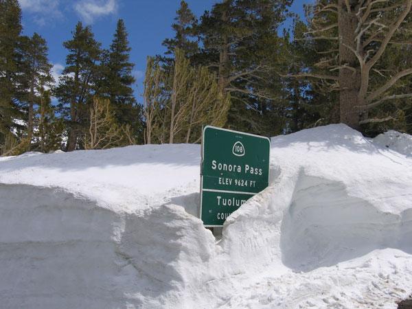 Sonora Pass - Winter